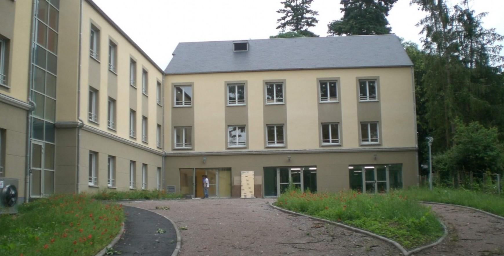 le reconfort maison de convalescence extension du batiment ai2b